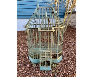 etsy, antique bird cage, and victorian bird house image