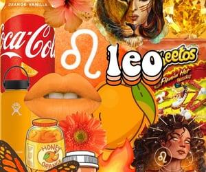 aesthetic, horoscope, and Leo image