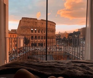 rome, view, and italy image