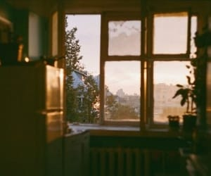 home, photography, and sunset image