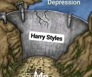 depression, meme, and styles image