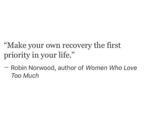 quote, strong, and recovery image