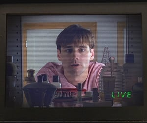 jim carrey, movie, and the truman show image