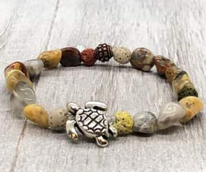 etsy, lava beads, and diffuser bracelet image