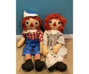 etsy, raggedyannandy, and raggedy ann andy image