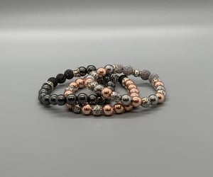 elastic, aromatherapy, and lava beads image