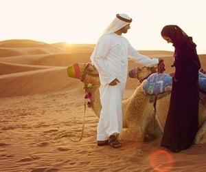 arab, couples, and islamic image