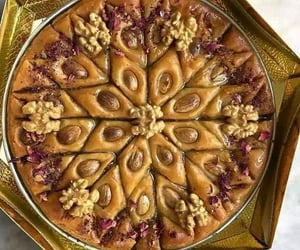 Algeria, food, and baklava image