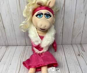 etsy, miss piggy plush, and muppet babies toy image