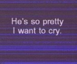boy, cry, and pretty image