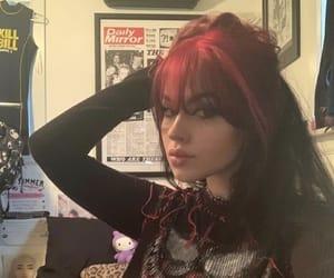 hair dye and e-girl image