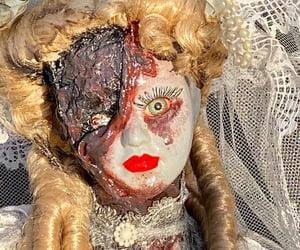 etsy, scary doll, and creepy doll image