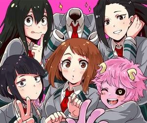 anime girls, boku no hero academia, and jirou image