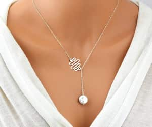 etsy, sterling silver, and simple necklace image