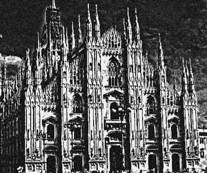 art, gothic, and milan image