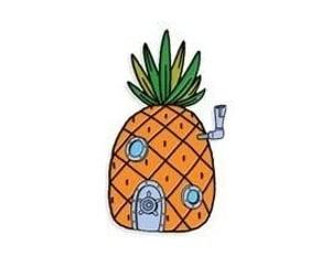 aesthetic, pineapple, and spongebob image