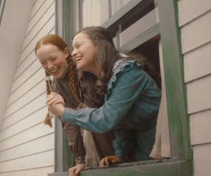 background, green gables, and fondo image