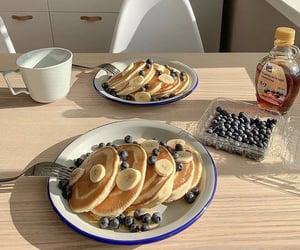 breakfast, pancakes, and food image