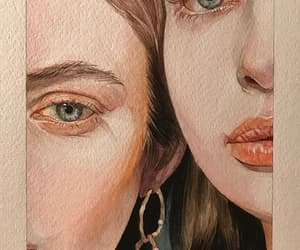 aesthetic, girl, and woman image