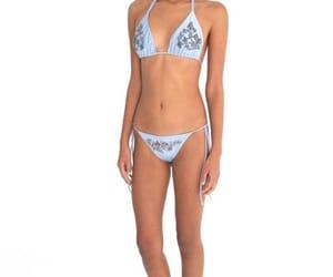 beautiful, bikini, and outfit image