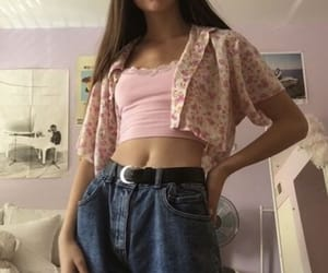 90s, outfit, and trendy image