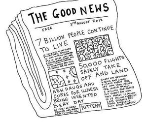 art, change, and good news image