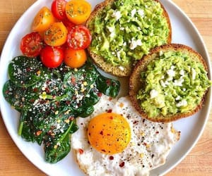 abacate, vegan, and food image