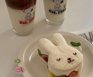 food, aesthetic, and bunny image