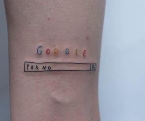 google, tatuagem, and porn image