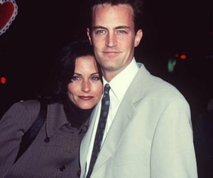 friends, Matthew Perry, and 90s image