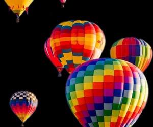 edit, hot air ballon, and overlay image