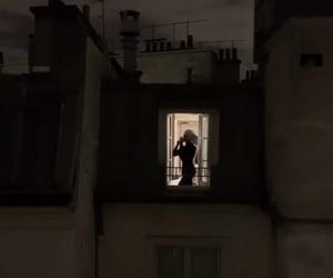 paris, parisian, and shadow image