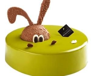 brown, bunny, and cake image