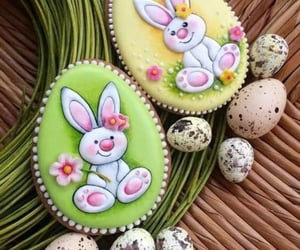 bunny, decoration, and Cookies image