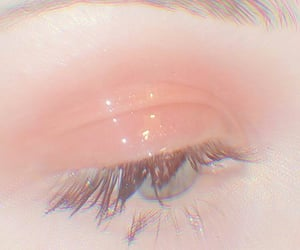 aesthetic, makeup, and eyes image
