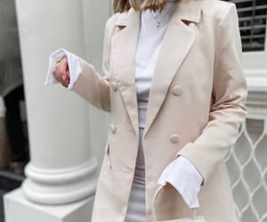 blazer, look, and blogger image