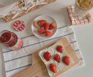 aesthetic, fresh, and strawberry image