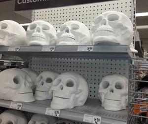 dark and skulls image