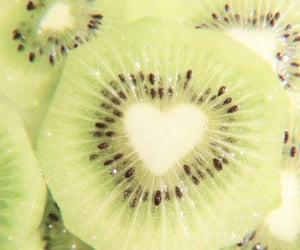 kiwi, fruit, and heart image