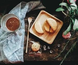 biscuits, breakfast, and milk image