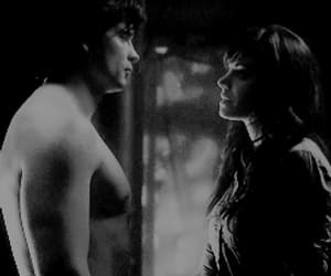 black and white, clark kent, and smallville image