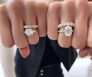 diamonds, rings, and anelli image