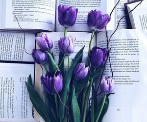 flowers, spring, and purple image