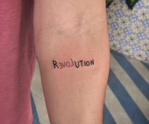 revolution, tattoo, and love image