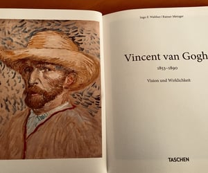 art, artist, and van gogh image