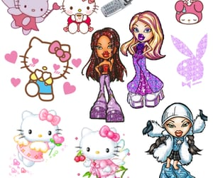 cyber, edgy, and hello kitty image