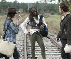 tv show, amc, and the walking dead image