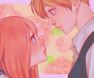 manga, shoujo, and coloured manga image
