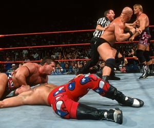 wwe, stone cold steve austin, and shawn michaels image