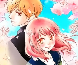 manga, shoujo, and anime couple image